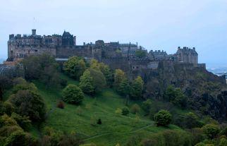 Edinburgh Castle from Scott Monument